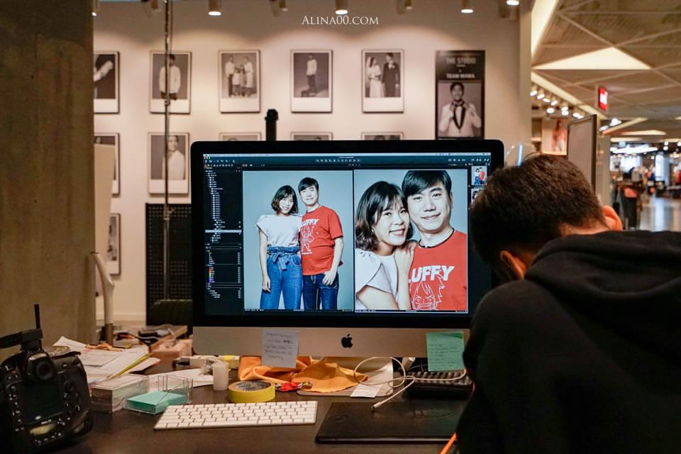 Fuji Film The Studio 情侶棚拍攝影體驗