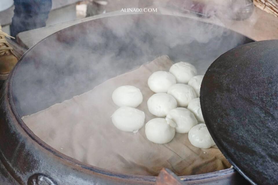 南怡島美食推薦 紅豆包子