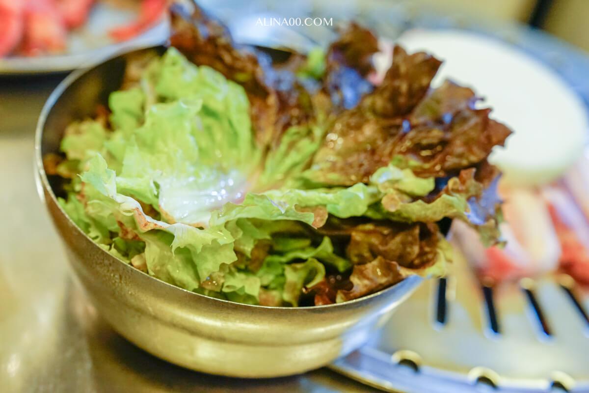 韓國生菜包肉