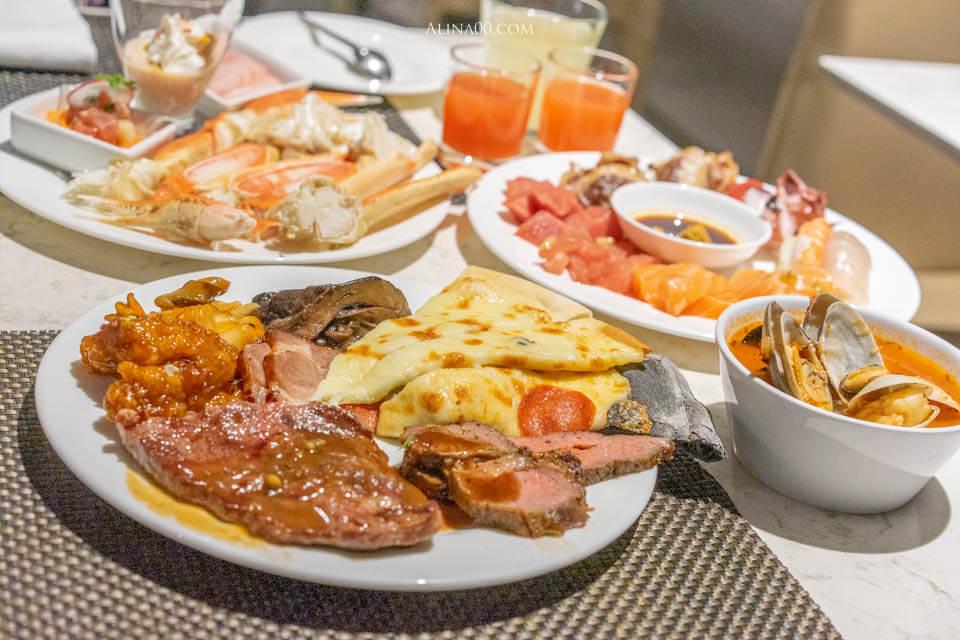 【首爾美食】 63大廈自助餐 吃到飽 Buffet Pavilion 連韓國人都愛 @Alina 愛琳娜 嗑美食瘋旅遊