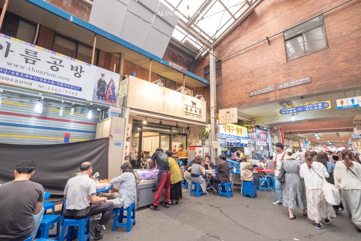 廣藏市場生拌牛肉