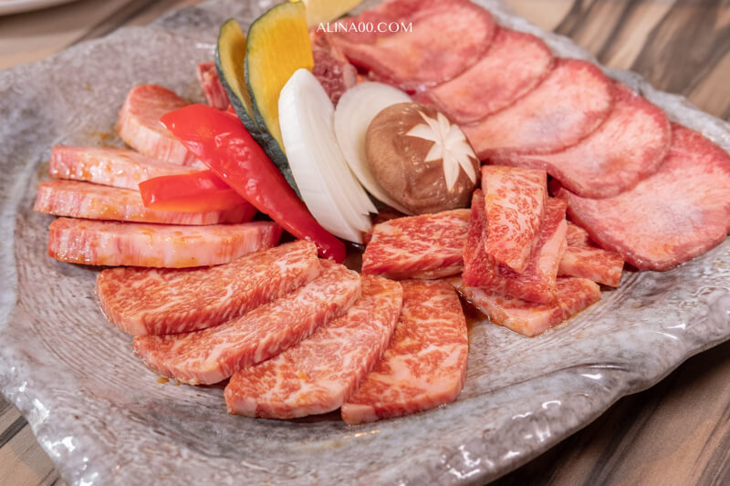 南光園 特選綜合烤肉和牛拼盤