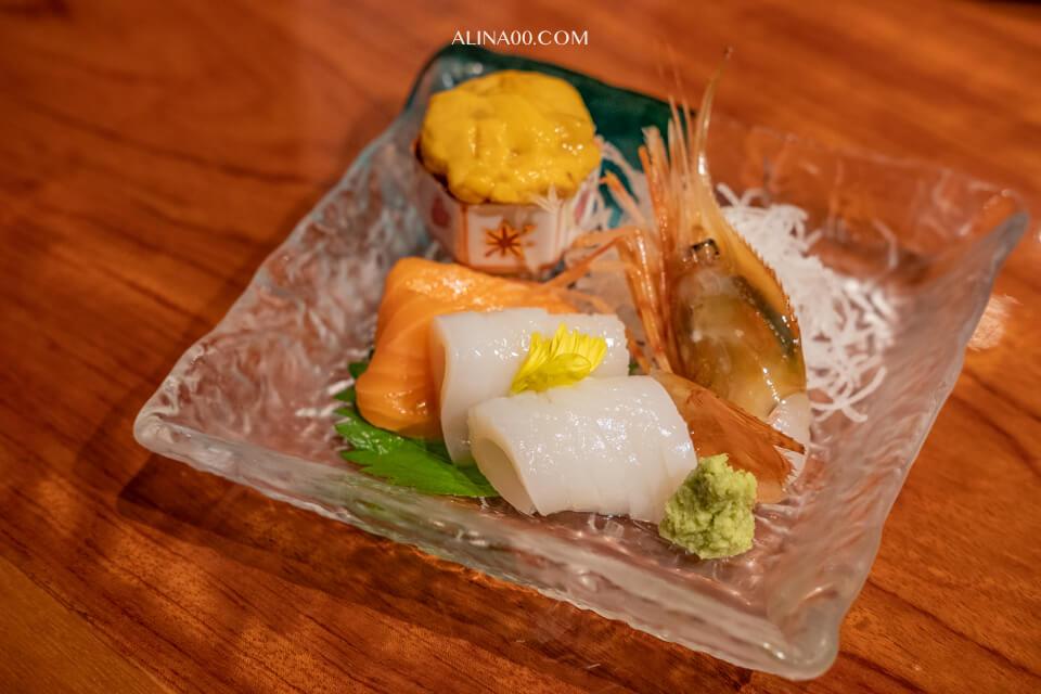海鮮刺身拼盤