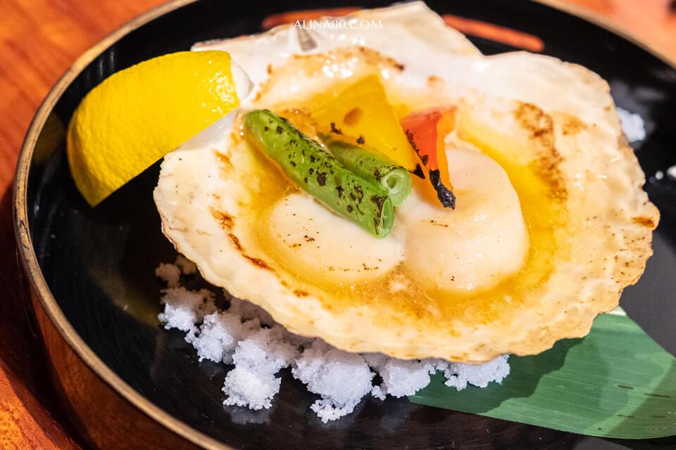 北海道牛油扇貝