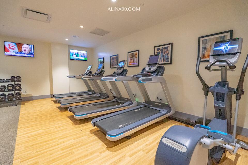 紐約時代廣場西希爾頓逸林飯店健身房