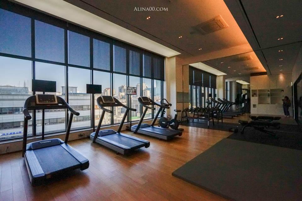 飯店健身房
