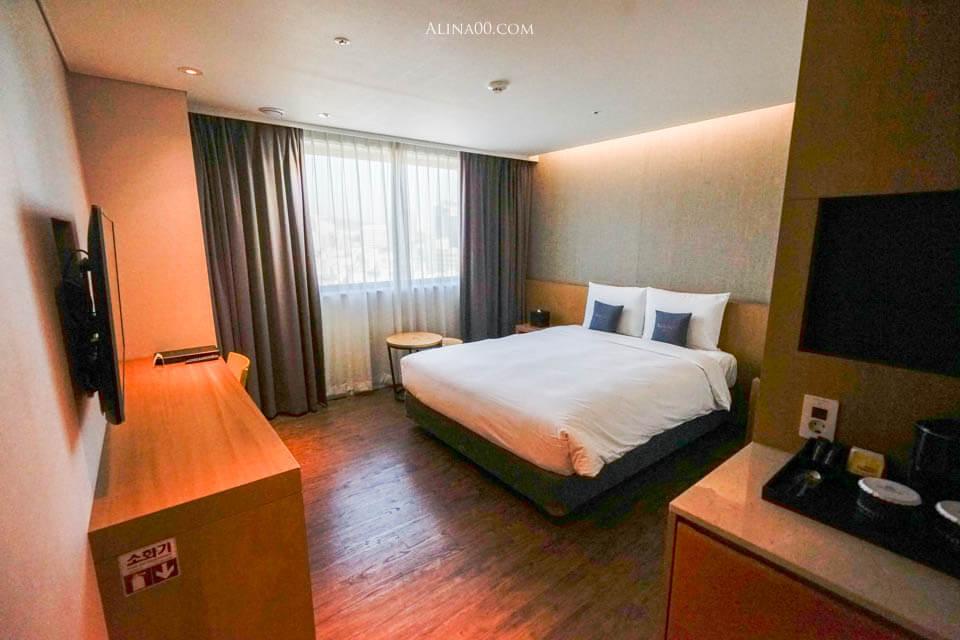 安馬緹首爾飯店 標準雙人房