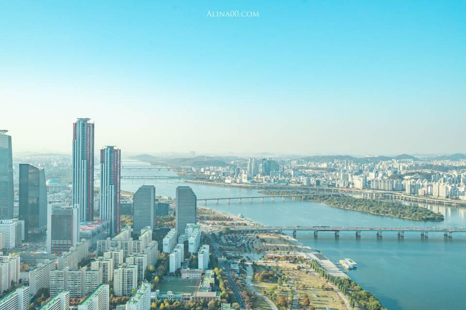 【首爾景點】 63大廈 展望台|在高空63 ART美術館欣賞漢江美景 @Alina 愛琳娜 嗑美食瘋旅遊