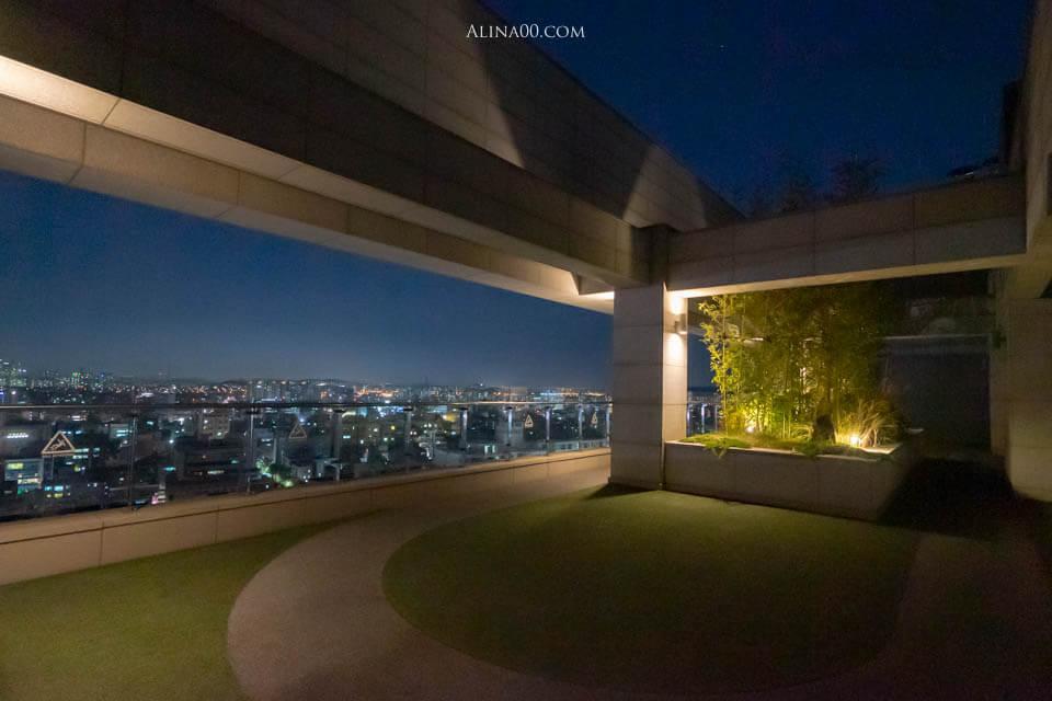 Amanti Hotel Seoul 屋頂公園