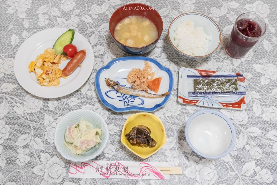 開泉閣 溫泉飯店早餐