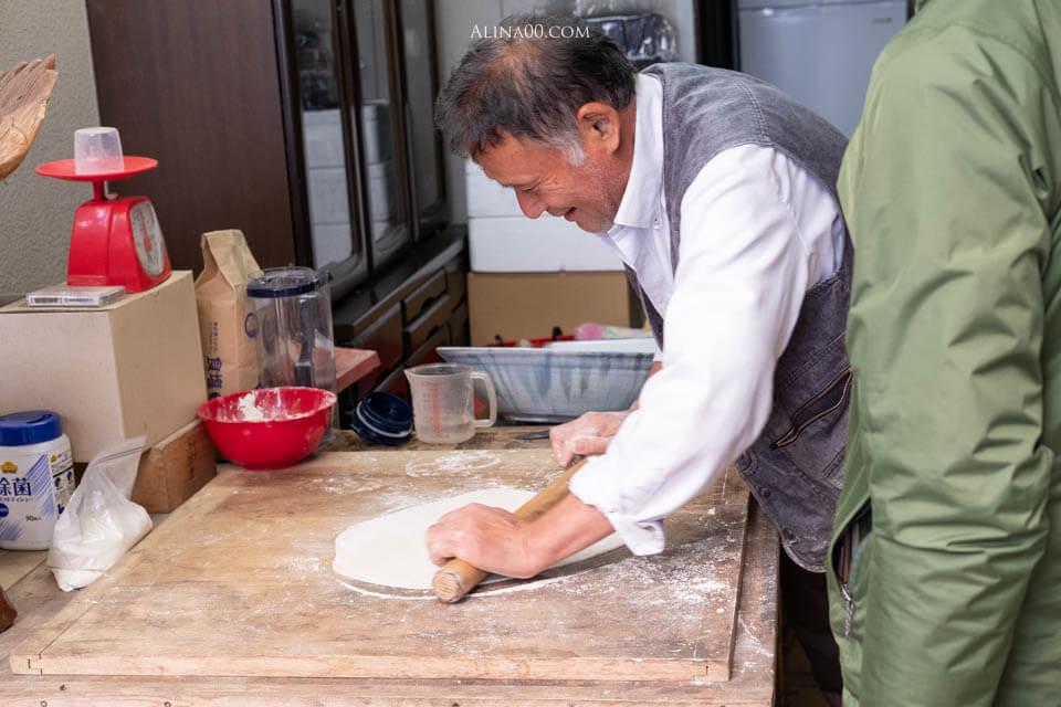 いやしの宿 ほのか 蕎麥麵手作體驗