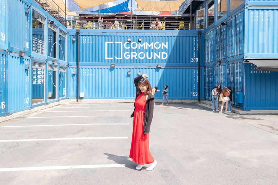 COMMON GROUND 建大貨櫃屋