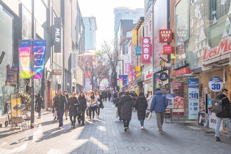 首爾購物推薦 明洞商圈