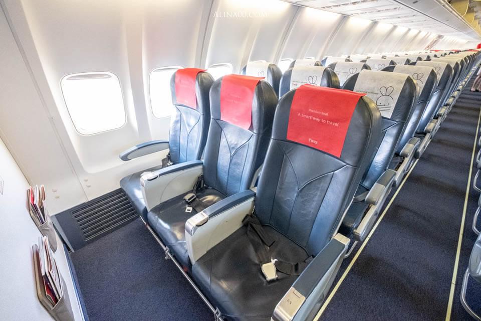 德威航空 付費座位