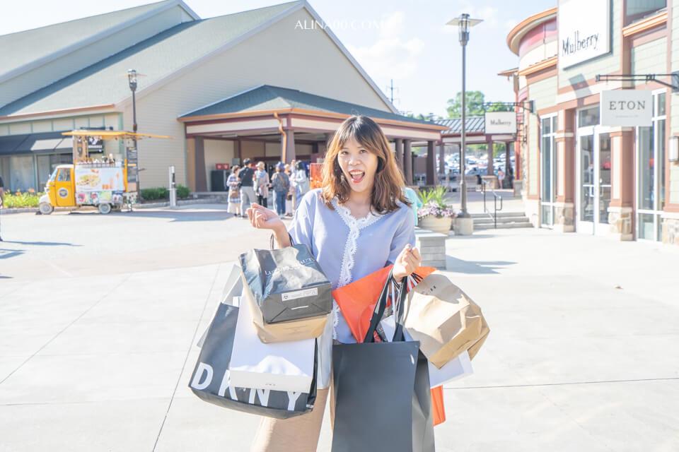 【紐約購物】美國 Woodbury Outlet 暢貨中心一日遊|交通攻略+好買心得 @Alina 愛琳娜 嗑美食瘋旅遊