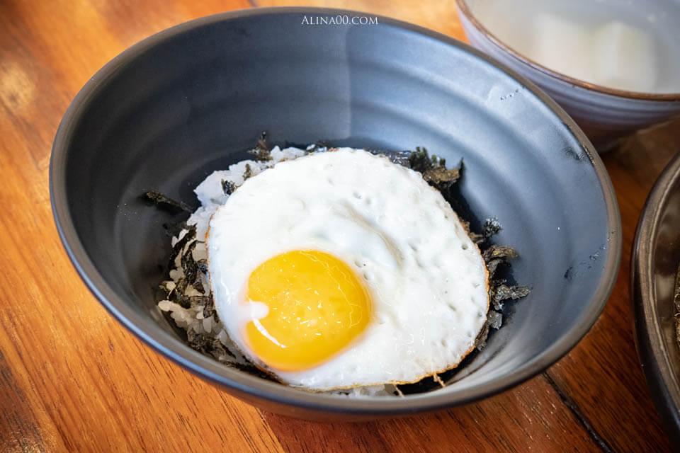 海苔雞蛋拌飯