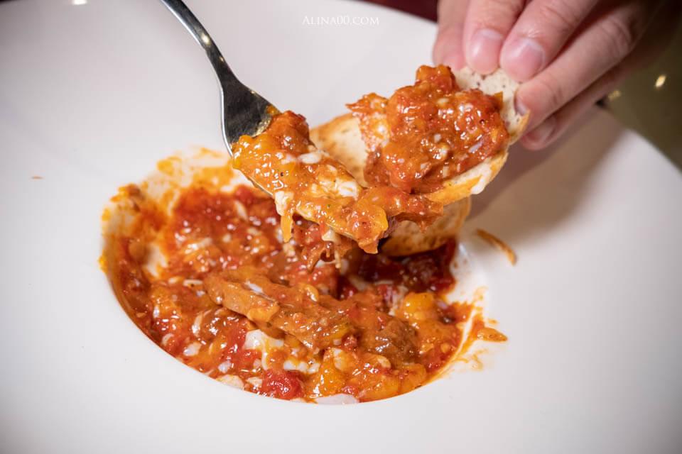 番茄牛肚牛筋水波蛋
