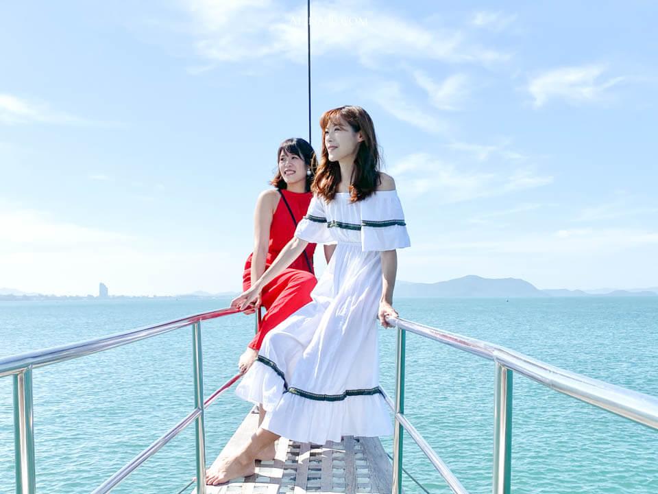 泰國芭達雅豪華遊艇體驗
