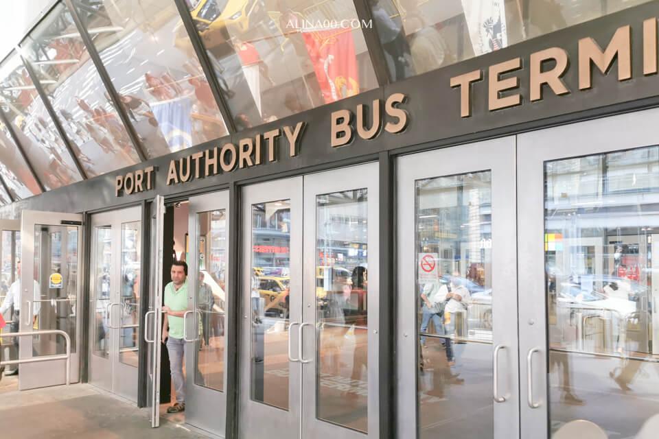紐約巴士客運總站