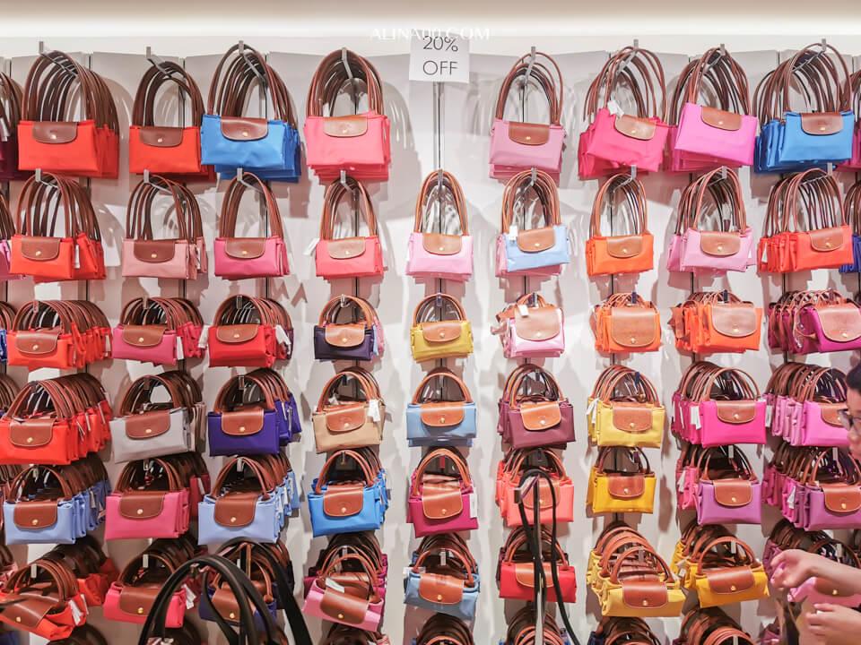 Longchamp 購物包