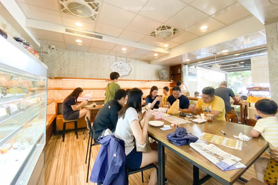 內湖早餐店