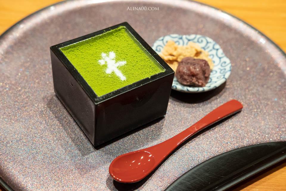 日本橋海鮮丼 宇治抹茶布丁