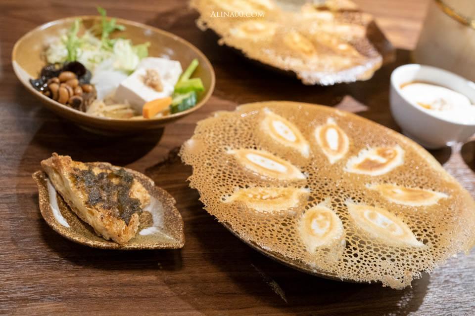 【台北美食】東區-上善豆家 |冰花煎餃、鹽滷豆花,素食餐廳健康吃 @Alina 愛琳娜 嗑美食瘋旅遊