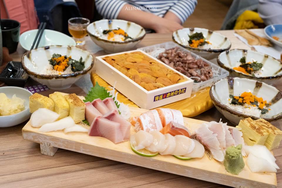 【台北美食】 小六食堂 日式料理|無菜單也有海鮮丼,沒訂位吃不到! @Alina 愛琳娜 嗑美食瘋旅遊