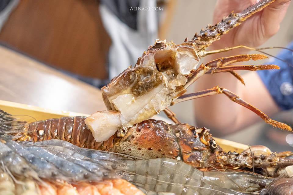 上官木桶鍋 野生龍蝦