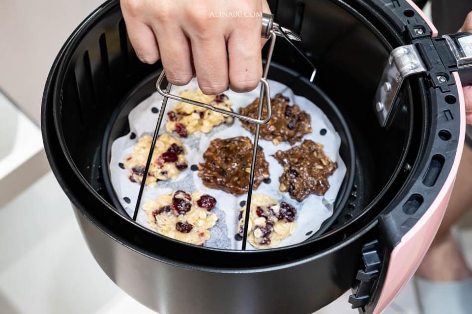氣炸鍋蔓越莓 燕麥餅乾食譜