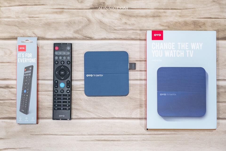 OVO電視盒 G700開箱