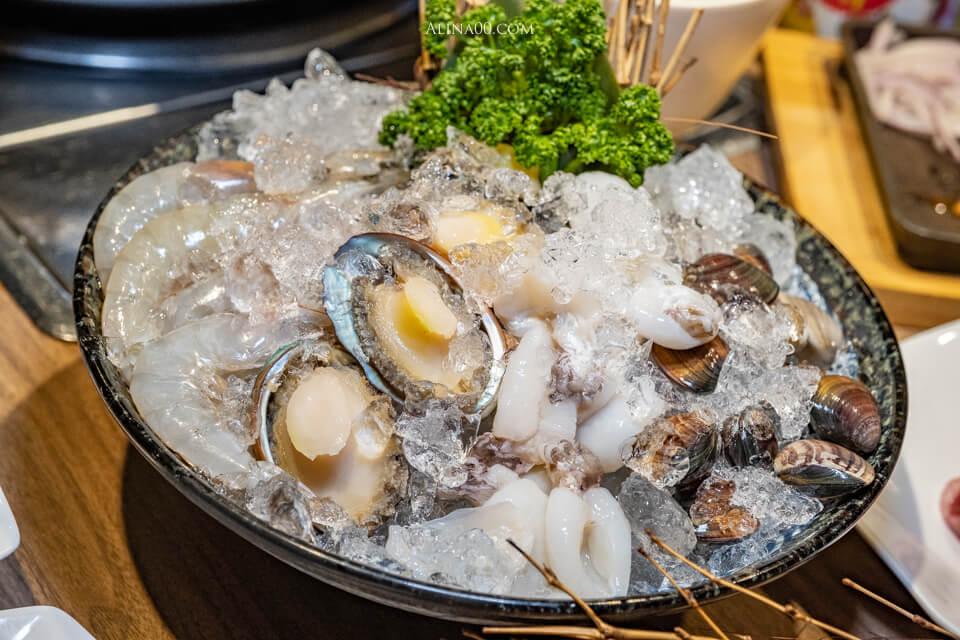 海味升級海鮮拼盤
