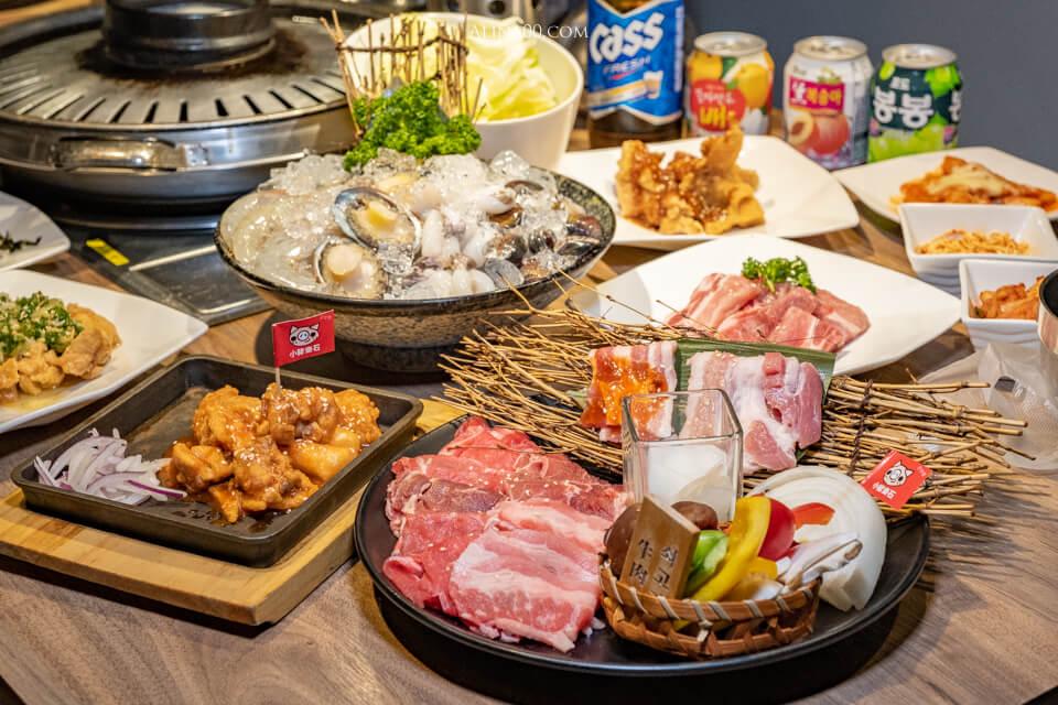 【台北美食】內湖-小豬樂石 韓式烤肉吃到飽|東湖韓國烤肉店、小菜免費 @Alina 愛琳娜 嗑美食瘋旅遊