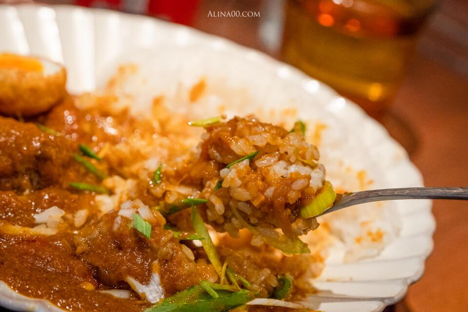 越光米咖哩飯
