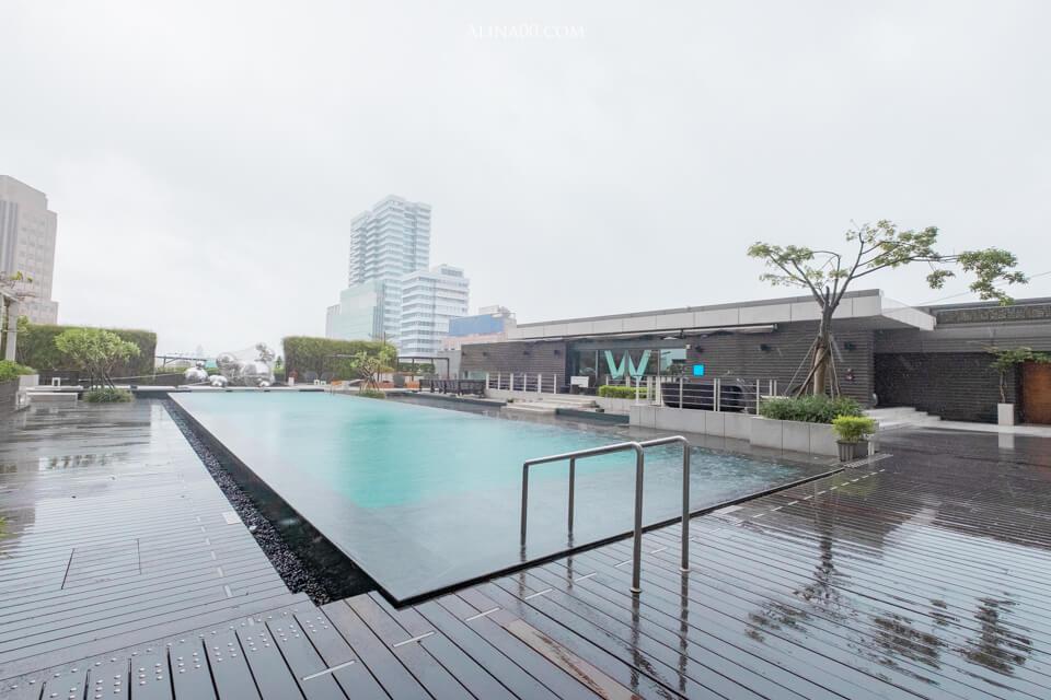W Hotel Taipei 戶外游泳池