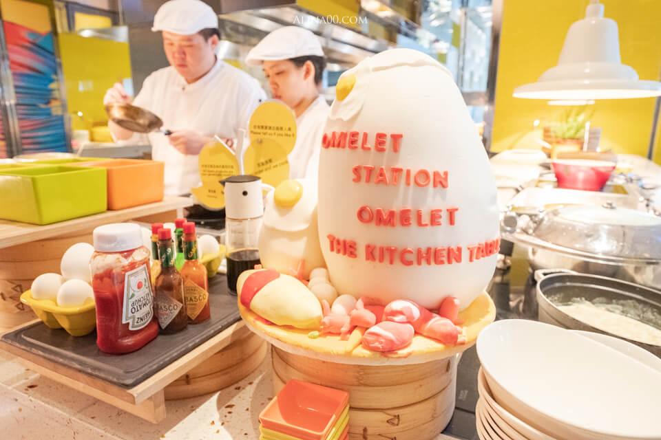 W台北飯店早餐