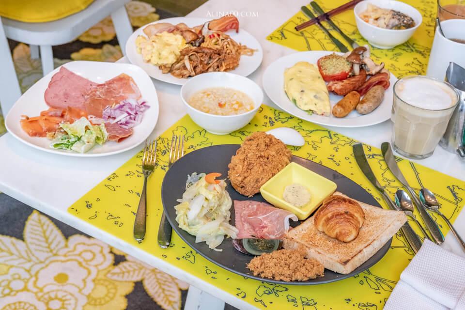台北W飯店早餐