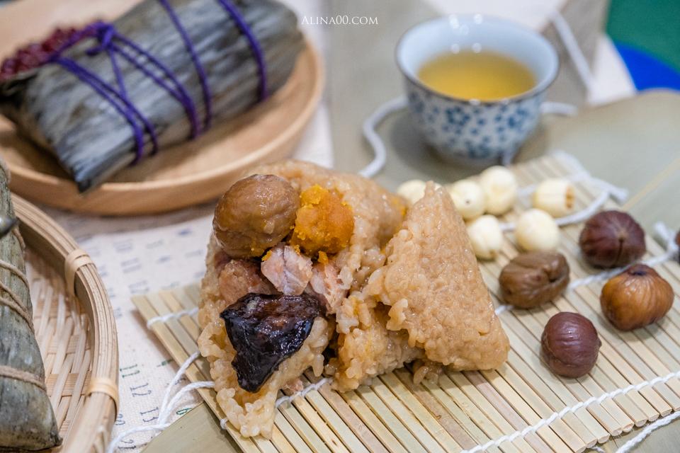 上海鄉村餐廳雪蓮傳香粽