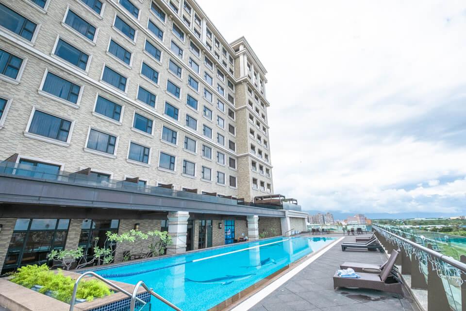 福容大飯店花蓮館 露天游泳池