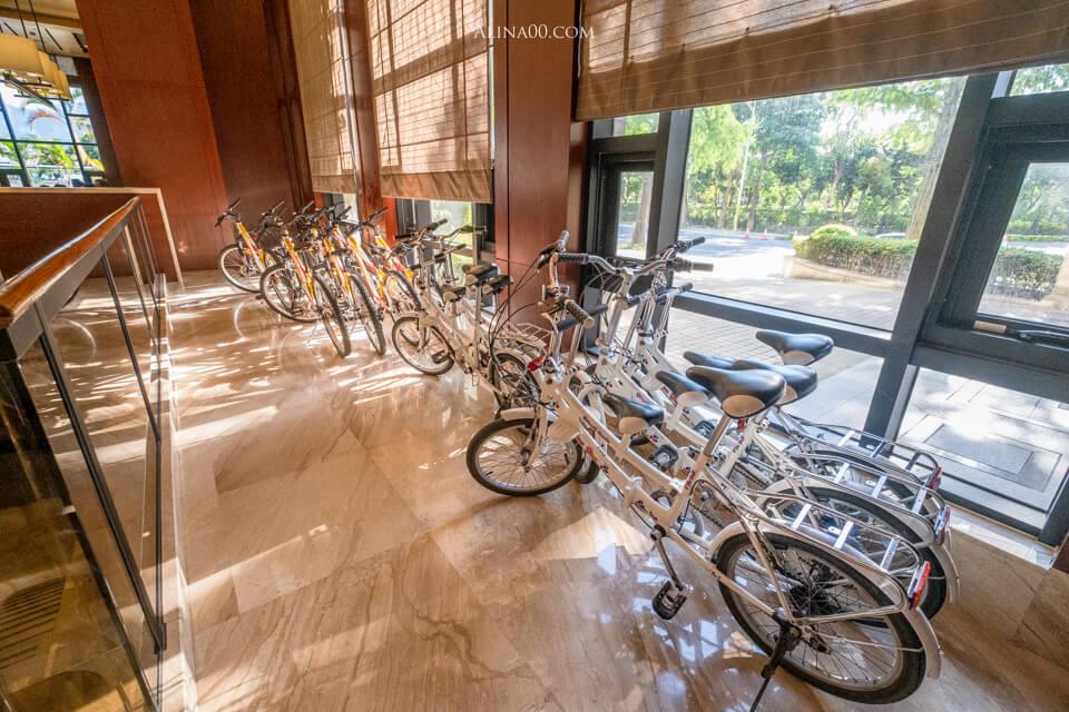 飯店單車租借