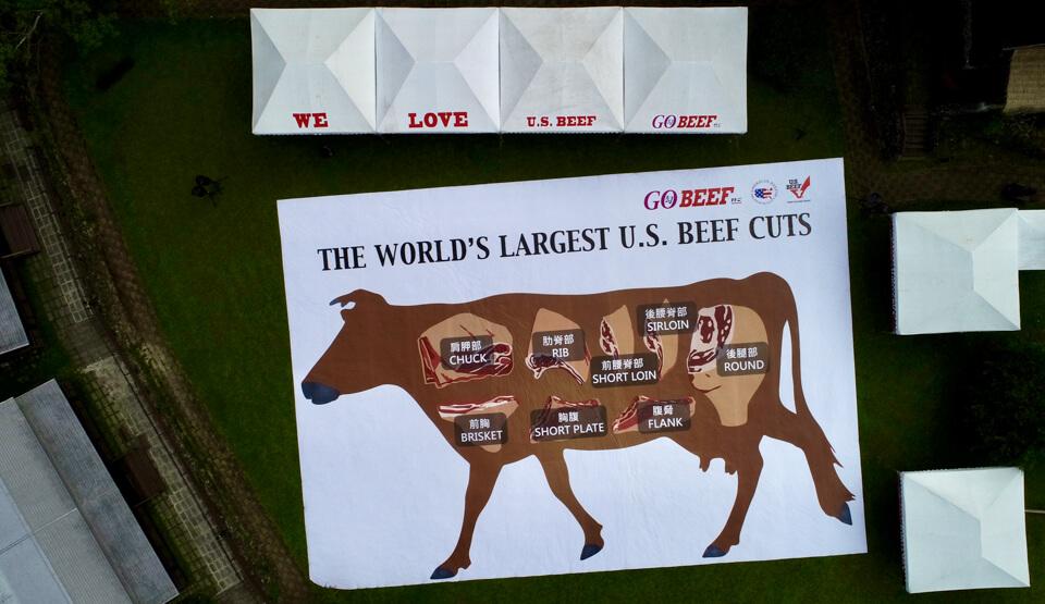 全世界最大美牛分切圖