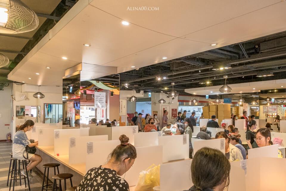 華山市場美食街