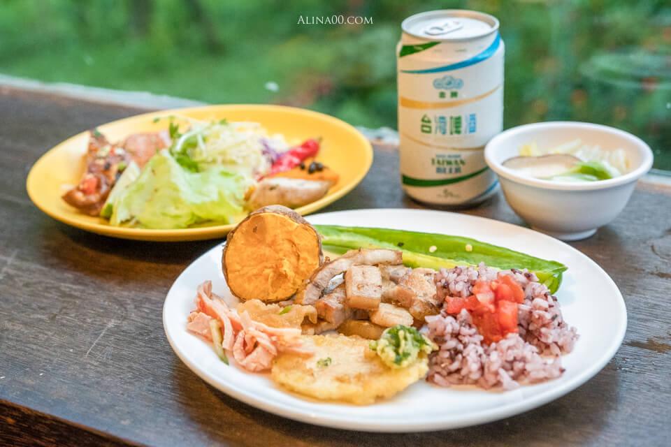 太魯閣山月村晚餐