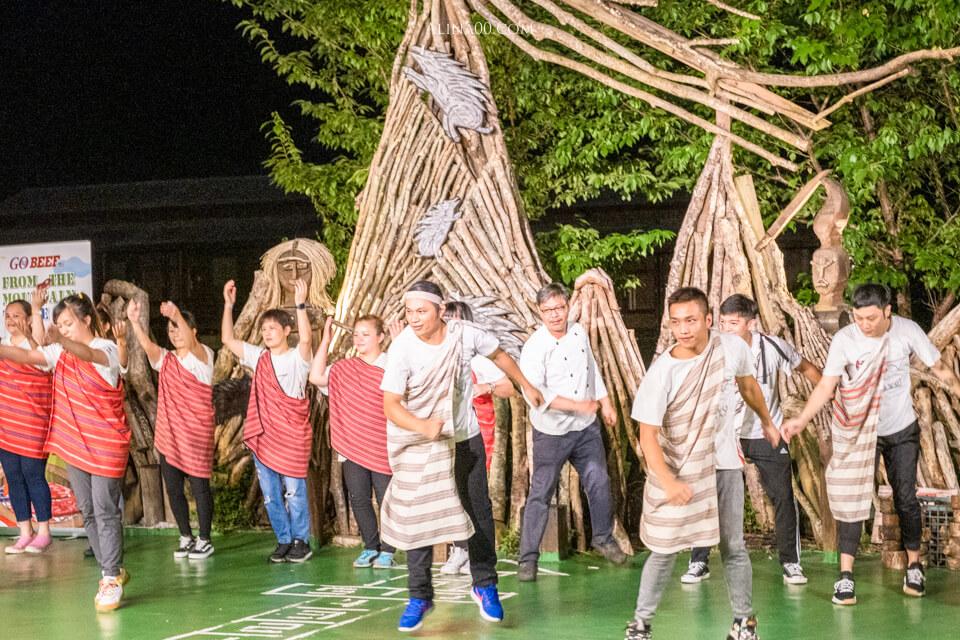 太魯閣山月村原住民表演