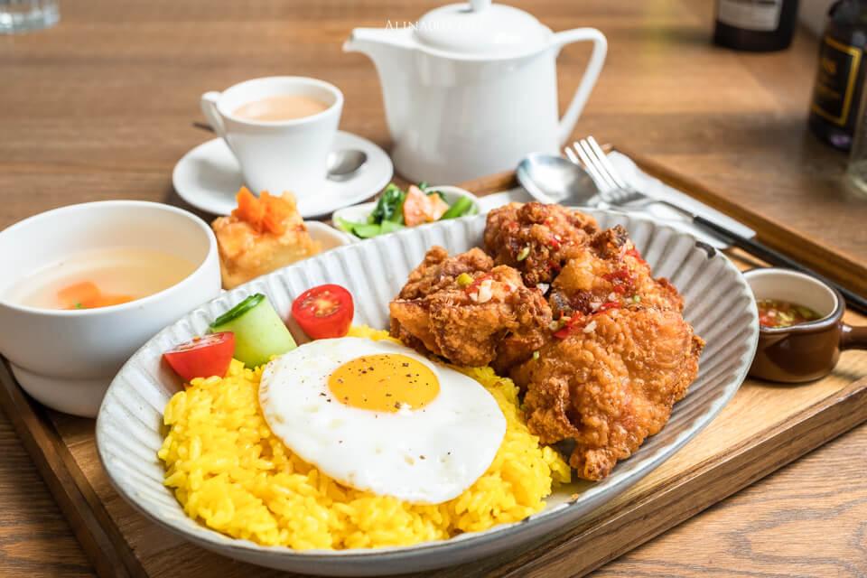 泰式椒麻雞肉飯