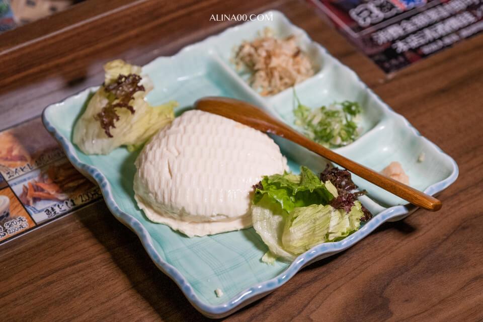 自家製竹籃豆腐