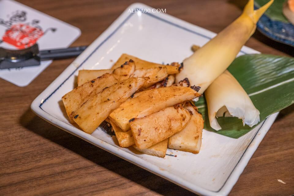 竹筍味噌燒