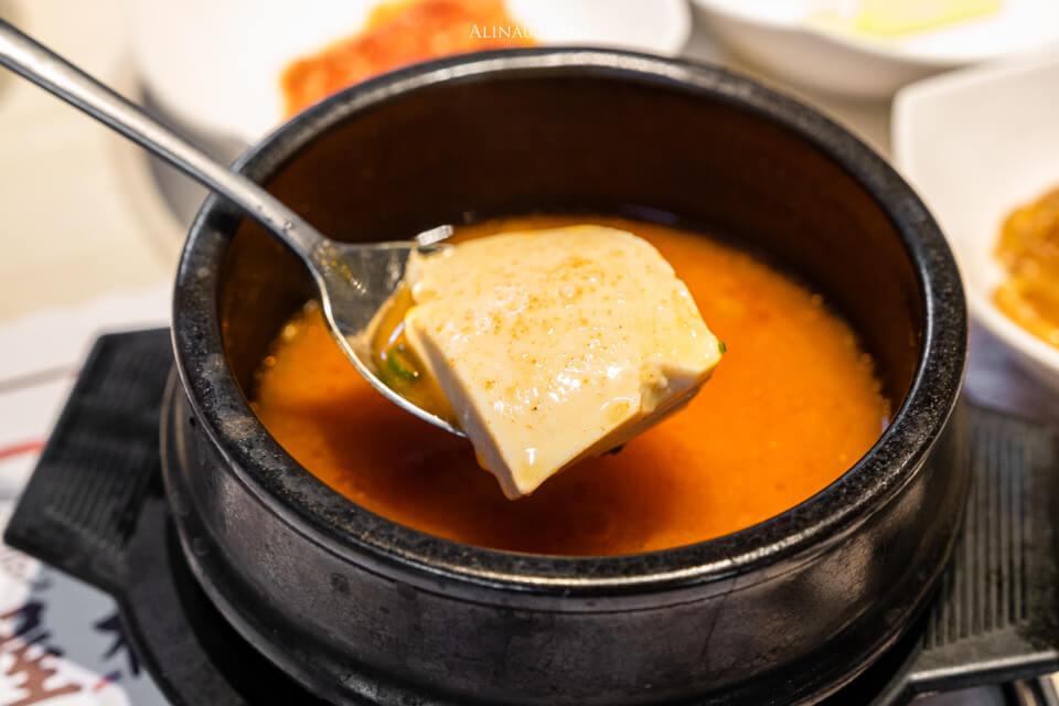 泡菜豆腐湯