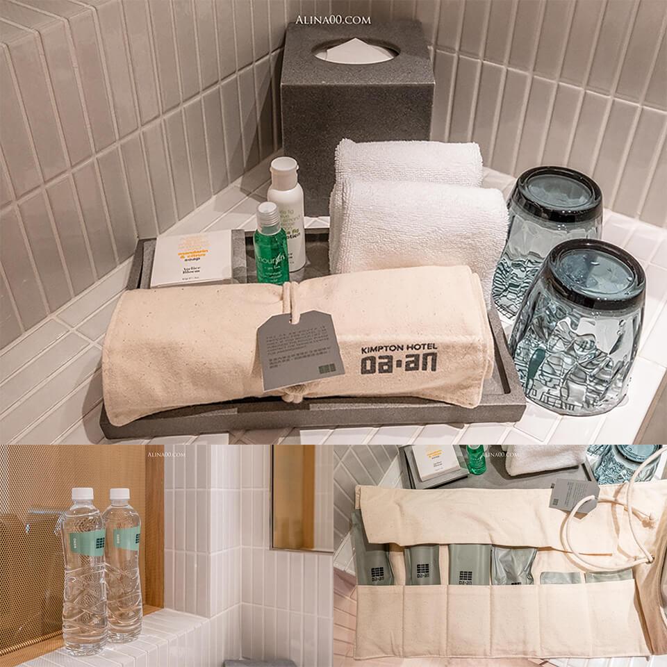金普頓大安酒店盥洗用品
