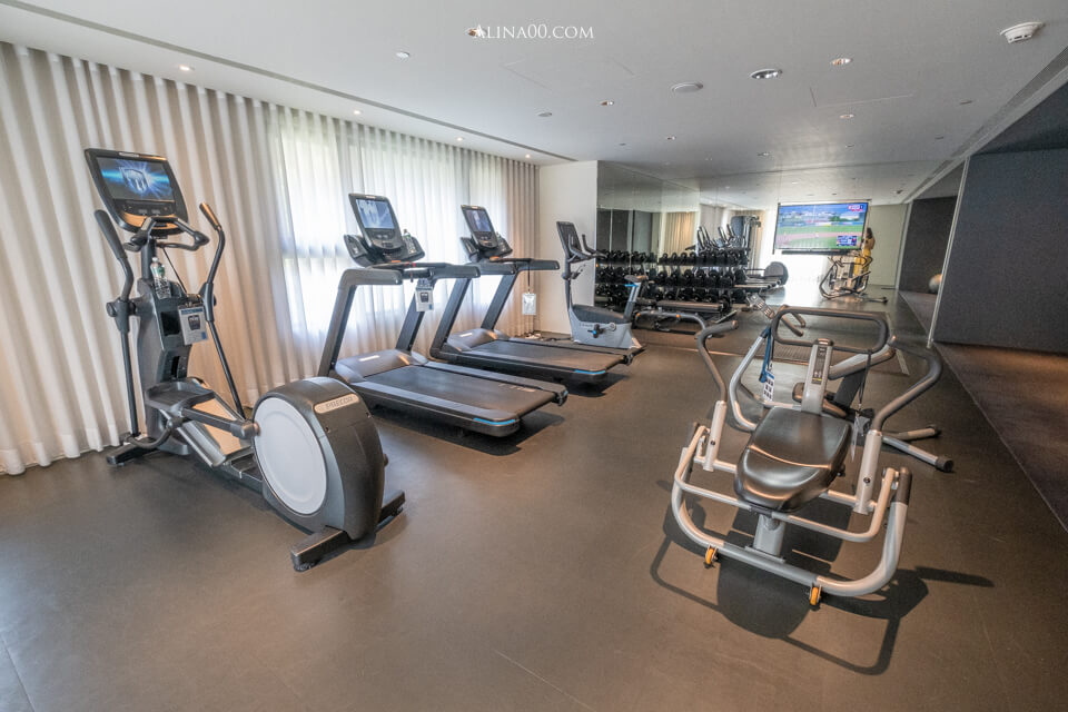 金普頓大安酒店健身房